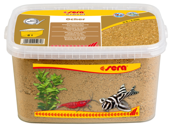 sera Gravel Ocher 0-2 mm