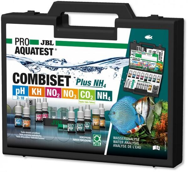 JBL PROAQUATEST COMBISET Plus NH4 - Testkoffer für die wichtigsten Wasserwerte in Süßwasser-Aquarien