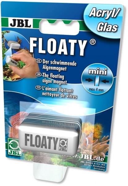 JBL Floaty Acryl/Glas - Schwimmender Scheiben-Reinigungsmagnet für Aquarien mit Acrylscheiben bis 4