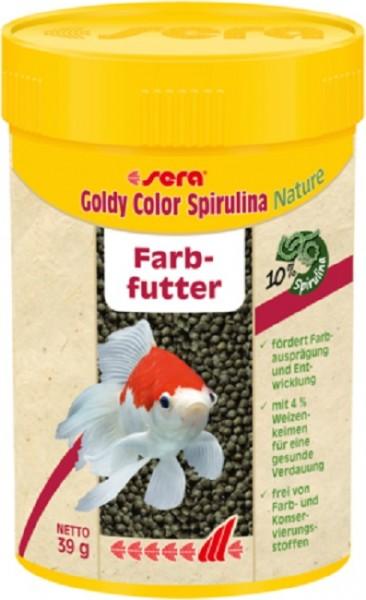 sera Goldy Color Spirulina Nature