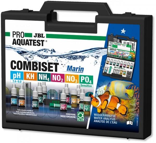 JBL PROAQUATEST COMBISET Marin - Testkoffer für die wichtigsten Wasserwerte in Meerwasseraquarien