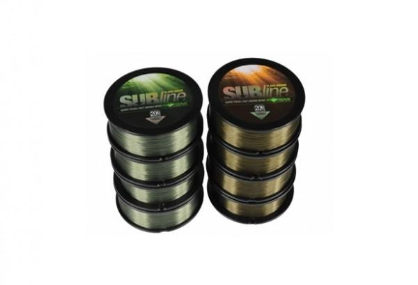 KORDA Subline 1000m-Green-Karpfenschnur