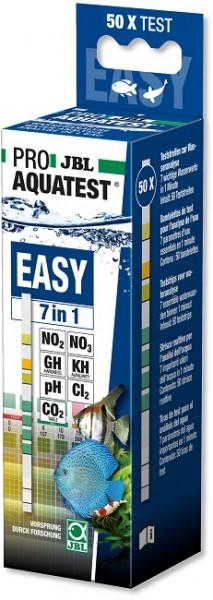 JBL PROAQUATEST EASY 7in1 - Teststreifen zum Schnelltest von Aquarienwasser