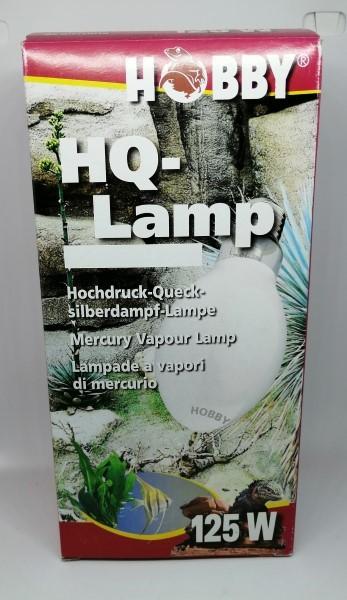 Hobby HQ- Lampe 125W - Hochdruck Quecksilberdampflampe