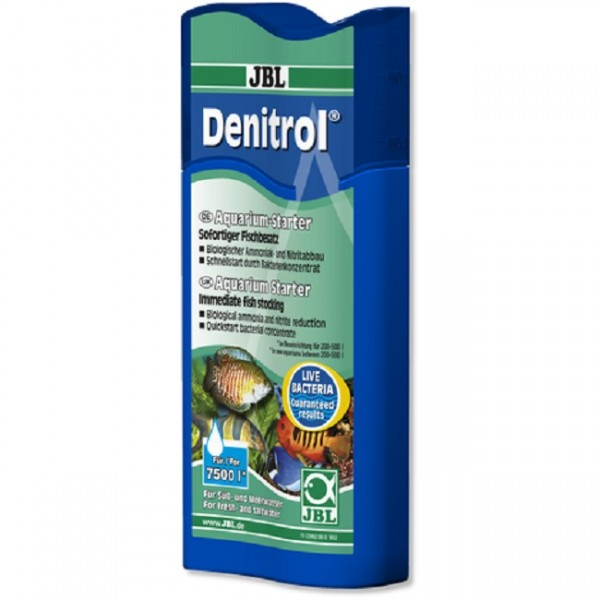 JBL Denitrol - Bakterienstarter zum Einsatz von Aquarienfischen