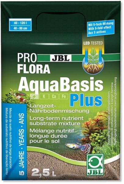 JBL PROFLORA AquaBasis plus - Langzeit-Pflanzennährboden für Süßwasser-Aquarien