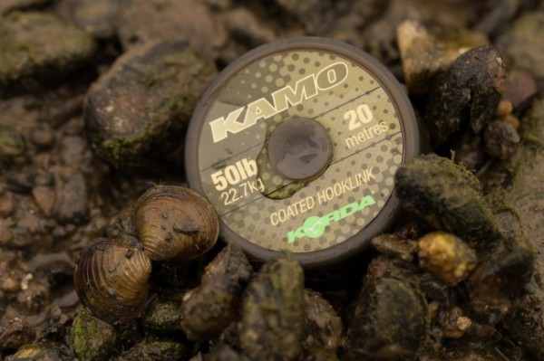 Korda Kamo Coated Hooklink 20lb 9,1kg