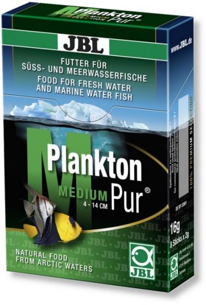 JBL PlanktonPur MEDIUM - Leckerbissen für große Aquarienfische