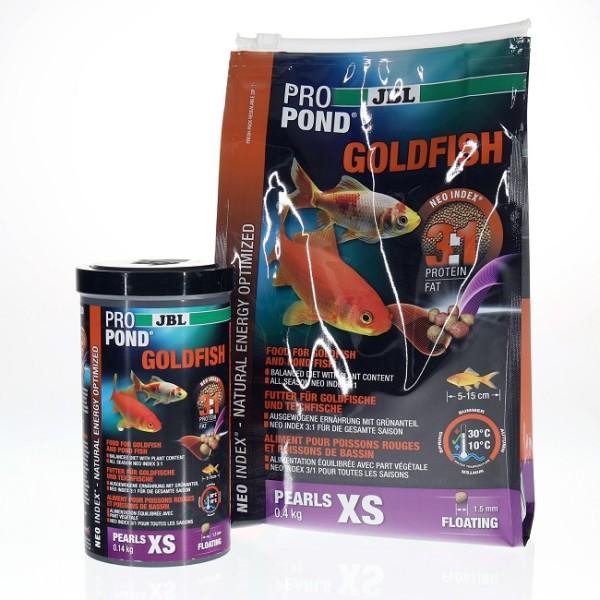 JBL ProPond Goldfisch XS - Futterperlen für kleine Goldfische 3 l/ 0,4kg