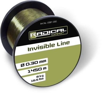 Radical Invisible Line Grün - Karpfenschnur