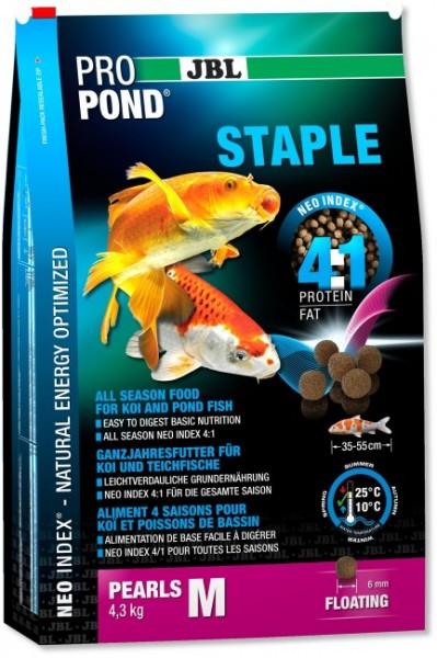 JBL ProPond Staple M - Pellets für Koi und Teichfische von 30-55cm