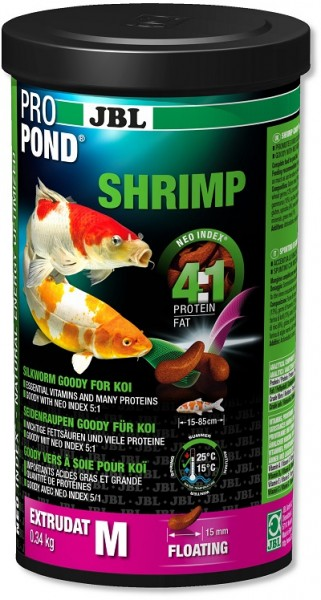 JBL ProPond Shrimp - Shrimps Snack für Koi