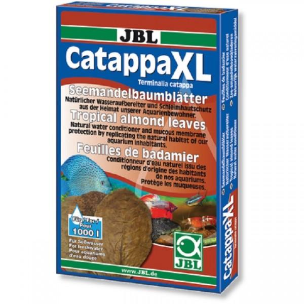 JBL Catappa XL 10 Stk. - Seemandelbaumblätter für Süßwasser-Aquarien