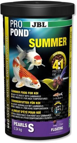 JBL ProPond Summer S - Sommerfutter für kleinere Koi