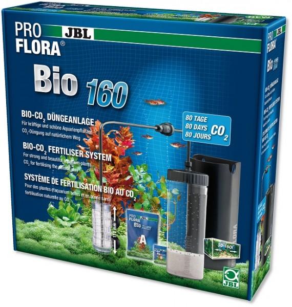 JBL PROFLORA Bio160 - Bio-CO2-Düngeanlage mit erweiterbarem Diffusor
