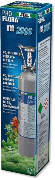 JBL PROFLORA m2000 SILVER - Mehrweg-Vorratsflasche mit 2 kg CO2