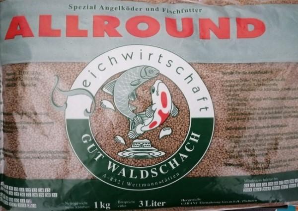 Waldschach 1kg 3lt Allround Karpfenfutter