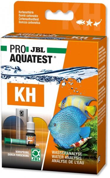 JBL PROAQUATEST KH Karbonathärte - Schnelltest zur Bestimmung der Karbonathärte (KH) in Süß-/Meerwas