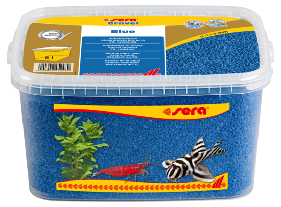 sera Gravel Blue 2-3 mm