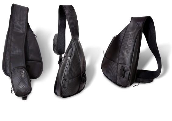 Quantum 4street Sling Bag Deluxe schwarz