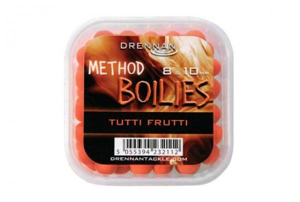 Drennan Method Boilies 8 &10mm -Tutti Frutti