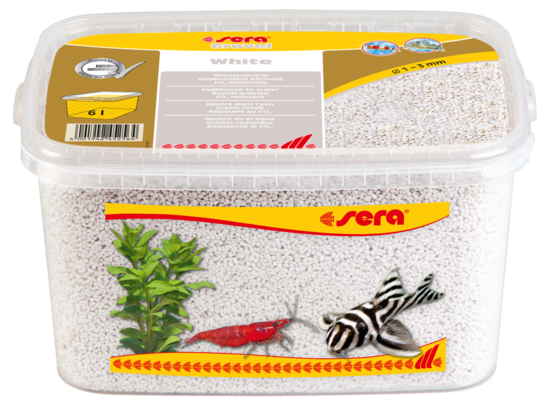 sera Gravel White 1-3 mm