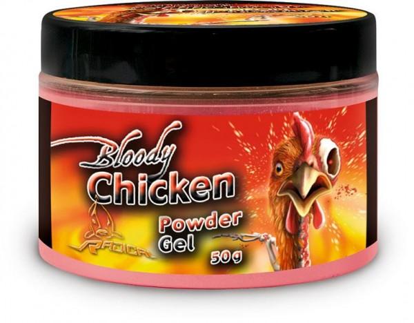 Radical Carp Bloody Chicken Neon Powder 50g