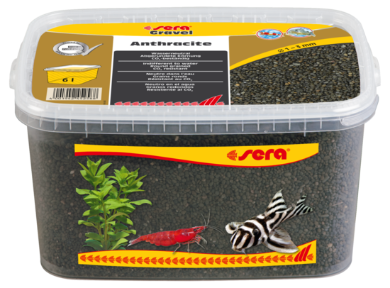sera Gravel Anthracite 1-3 mm