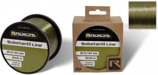 Radical Subsstantil Line transparent grün - Karpfenschnur