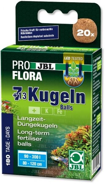 JBL PROFLORA Die 7 + 13 Kugeln - Wurzeldünger für Süßwasser-Aquarien (20 Düngekugeln)