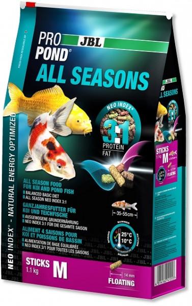 JBL ProPond All Season M - Ganzjahresfutter für Koi & Teichfische