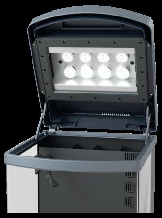sera LED-Abdeckung komplett für Biotop Nano 60