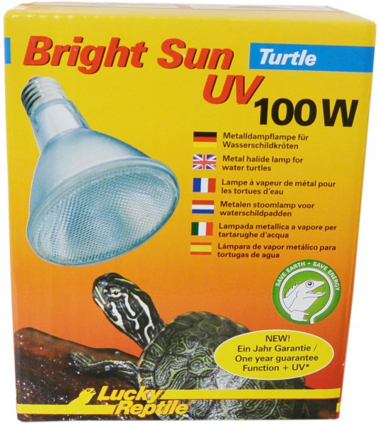 Lucky Reptile Bright Sun UV Turtle 100W