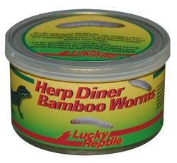 Lucky Reptile Herb Diner - Bamboo Worms 35g gekocht