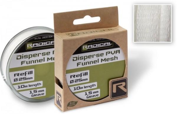 Radical Disperse PVA 25mm Funnel Mesh Refill 10m