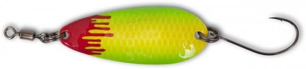 Magic Trout Bloody Shoot Spoon Gelb/Grün 3g