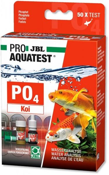 JBL PROAQUATEST PO4 Phosphat Koi - Schnelltest zur Bestimmung des Phosphatgehalts in Garten- und Koi