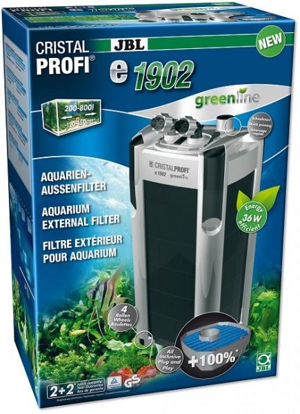 JBL CristalProfi e1902 greenline - Außenfilter für Aquarien von 200-800 Litern