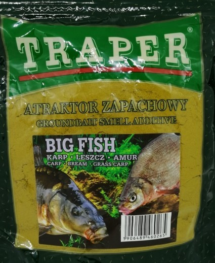 Traper Smell Additive Big Fish 250g