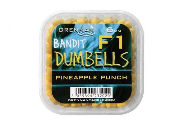 Drennan F1 Dumbell 6mm Pineapple Punch