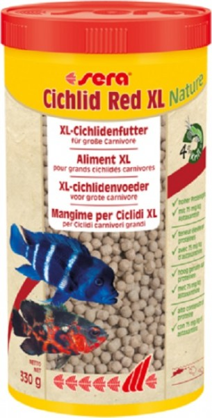 sera Cichlid Red XL Nature