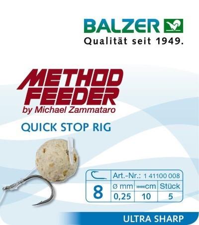 Balzer Feedermaster Method Feeder Quick Stop Rigs