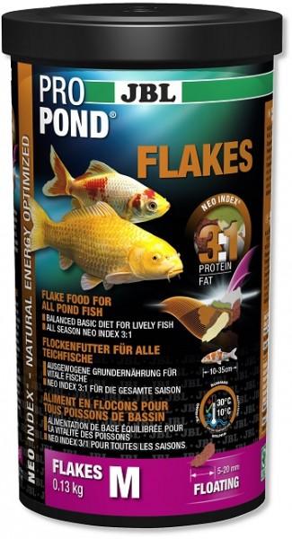 JBL ProPond Flakes - Flockenfutter für alle Teichfische