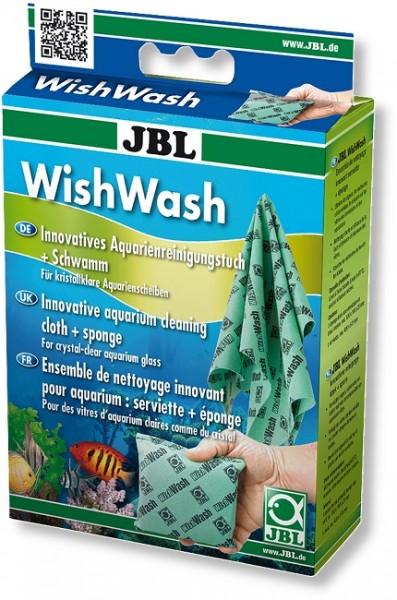 JBL WishWash - Reinigungstuch und Schwamm für Aquarien und Terrarien