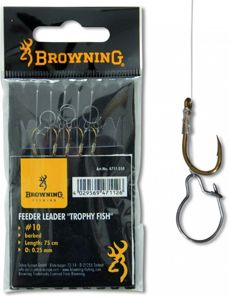 Browning Feeder Trophy Fisch Vorfachhaken