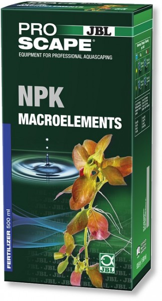 JBL PROSCAPE NPK MACROELEMENTS - 3 Komponenten-Pflanzendünger für Aquascaping