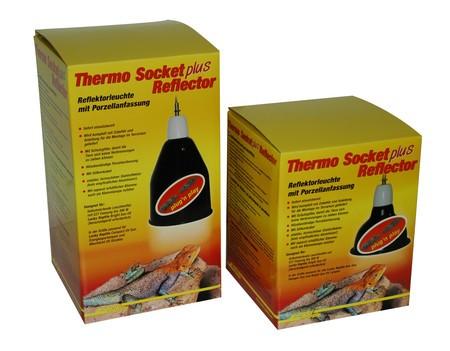 "Lucky Reptile Thermo Socket + Reflector PRO klein ,,schwarz"""