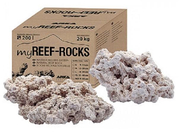 ARKA Aquaics myReef-Rocks XL 20kg, natürliches Argonitgestein