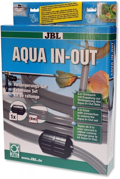 JBL Aqua In Out Verlängerung - Verlängerungsschlauch für Wasserwechselset Aqua