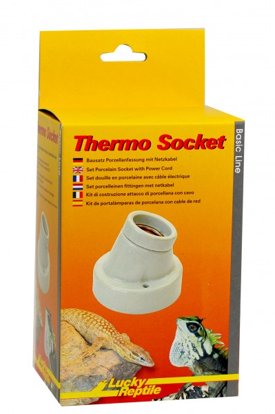 Lucky Reptile Thermo Socket-Porzellanfassung abgewinkelt